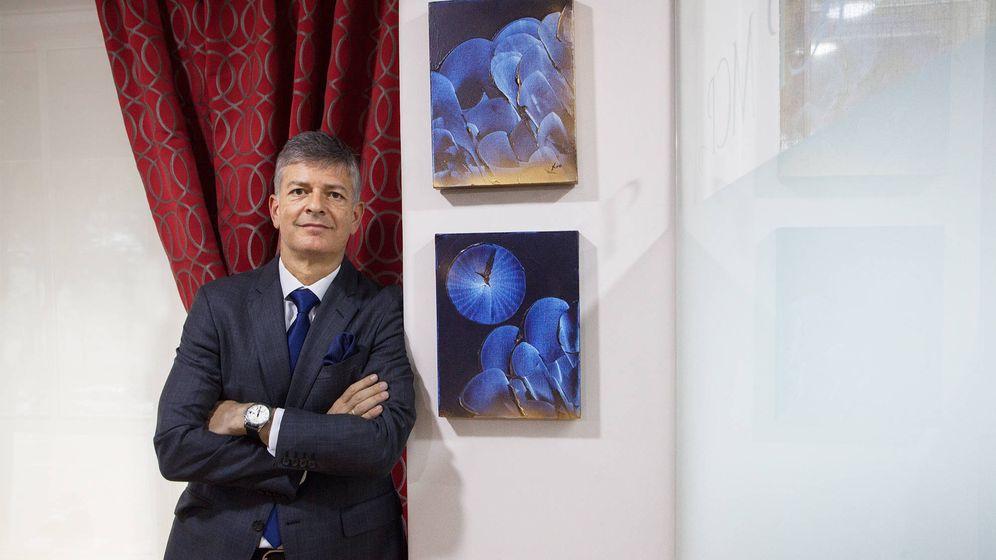 Foto: El abogado Manuel Castellanos, letrado de 13 asociaciones empresariales madrileñas. (Enrique Villarino)