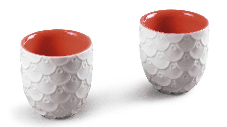 Foto: Dos vasitos de la serie 'Dragon tableware' de Lladró.