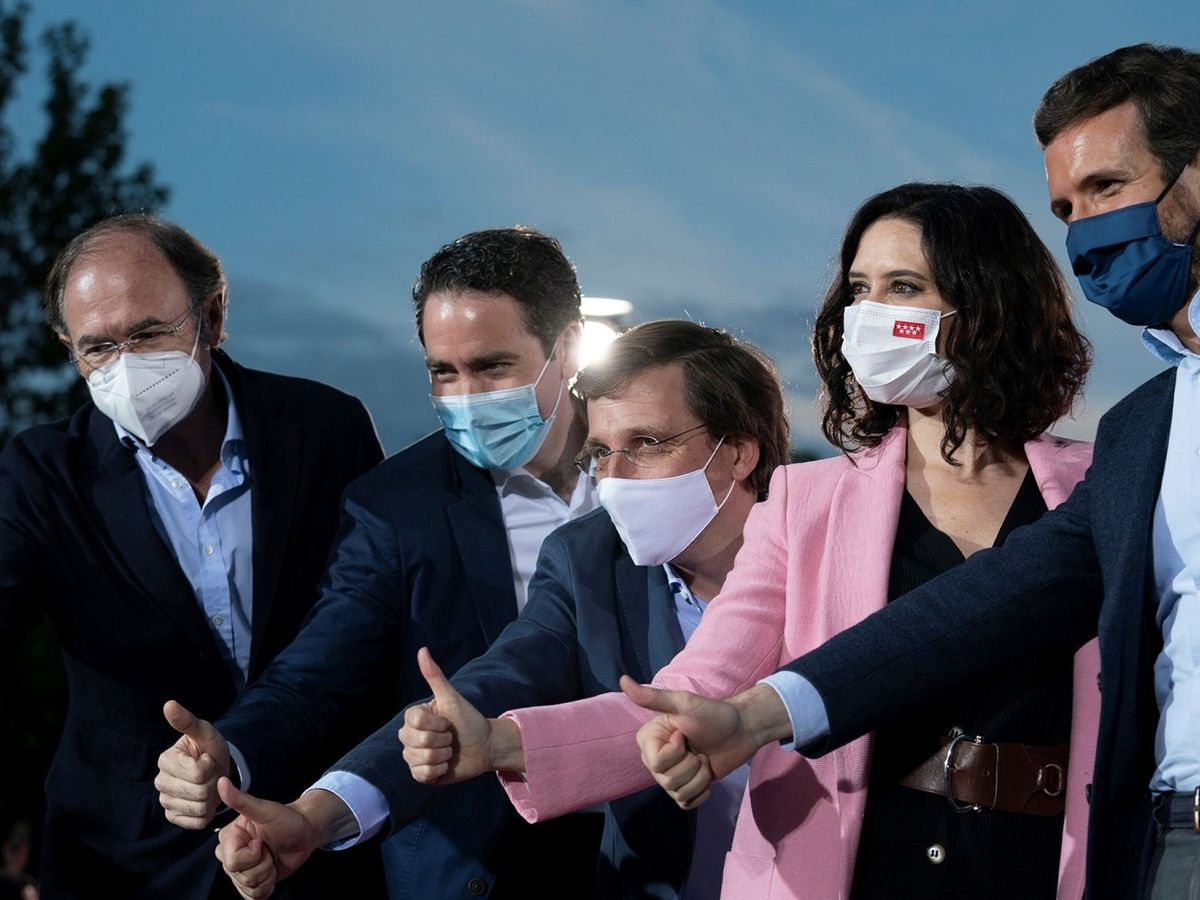 Foto: Cierre de campaña del PP en Madrid. (EFE)