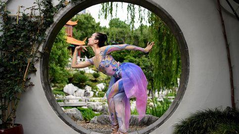 La bailarina china Meng Qingyang en Australia