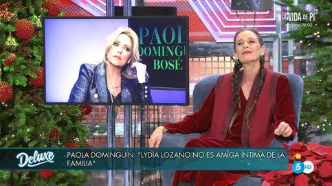 El motivo por el que Paola Dominguín ha vetado a Lydia Lozano en 'Sábado Deluxe'