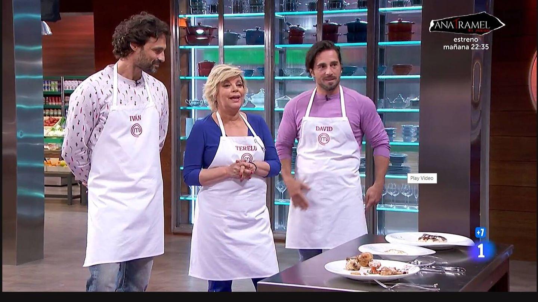 Terelu Campos, en 'Masterchef Celebrity'. (TVE)