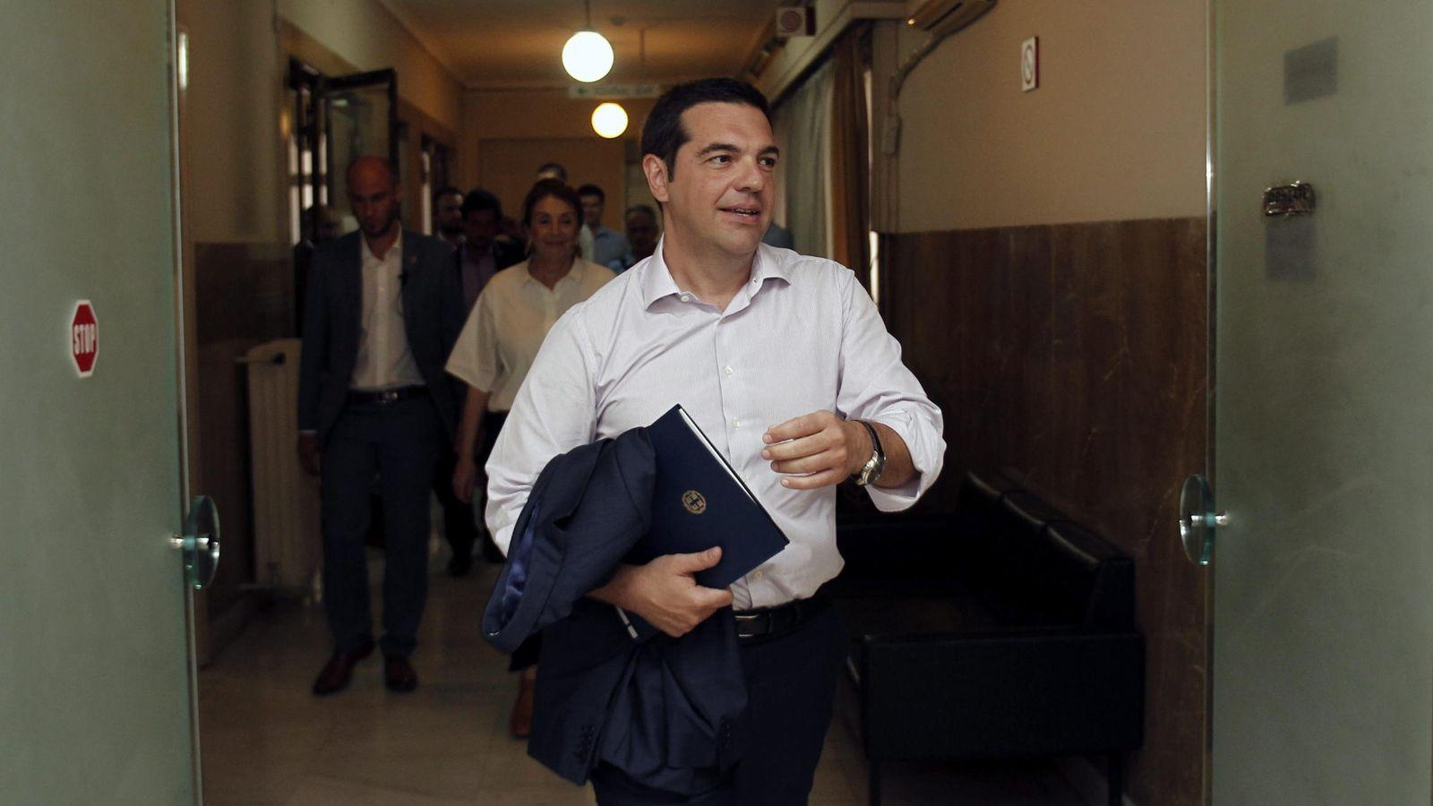 Foto: El primer ministro griego, Alexis Tsipras. (efe)
