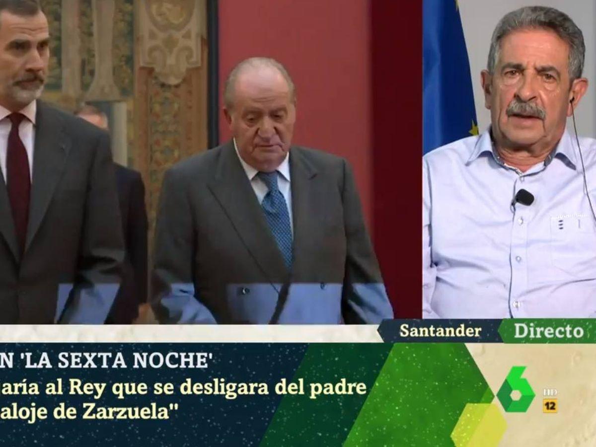 Foto: Iñaki López y Revilla, en 'La Sexta noche'. (Atresmedia).