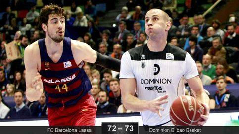 El Bilbao Basket acaba con el Barça y de paso con el bipartidismo de la Copa