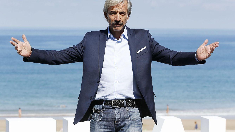 Foto: El actor Imanol Arias, en el Festival de San Sebastián. (EFE)