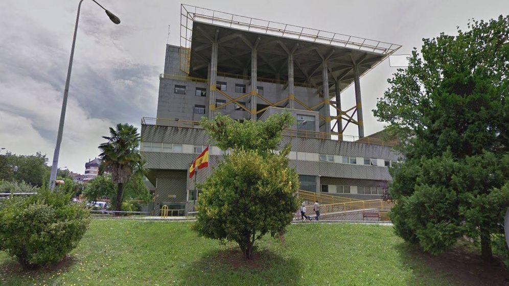 Foto: Imagen de la comisaría de As Lagoas (Ourense).