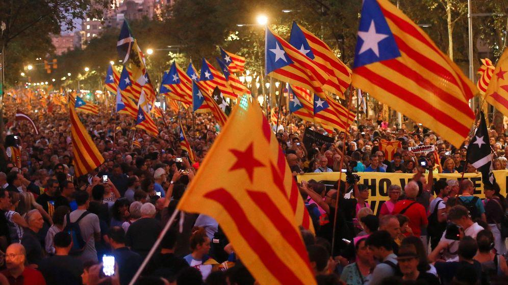 Foto: Segundo aniversario del referéndum ilegal del 1-O. (EFE)