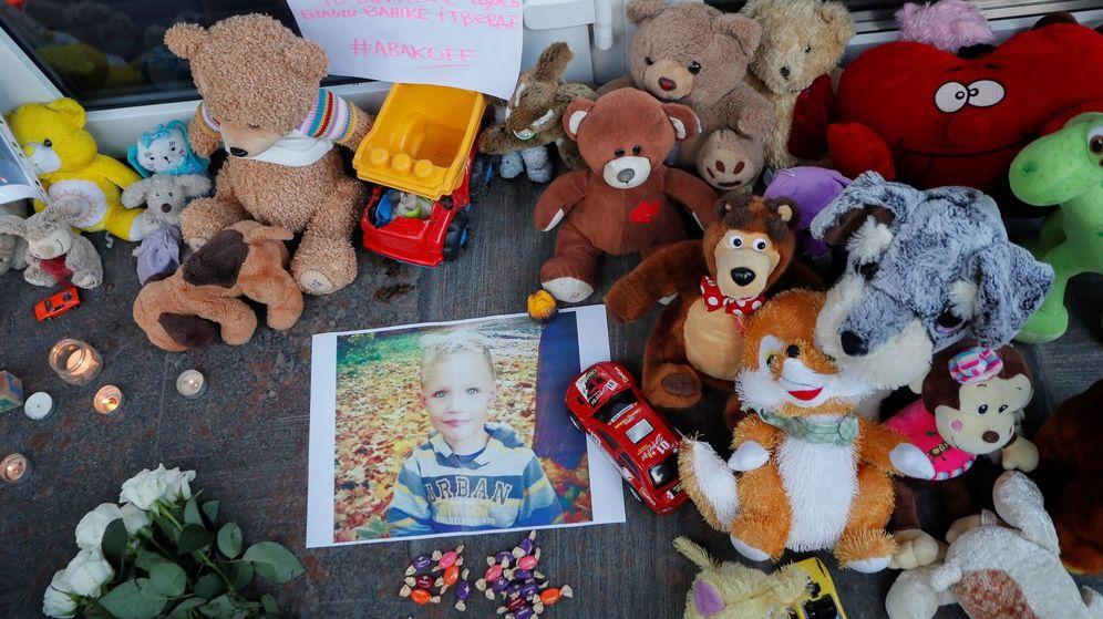 Foto: Los ucranianos piden justicia por el niño de 5 años que murió en Kiev