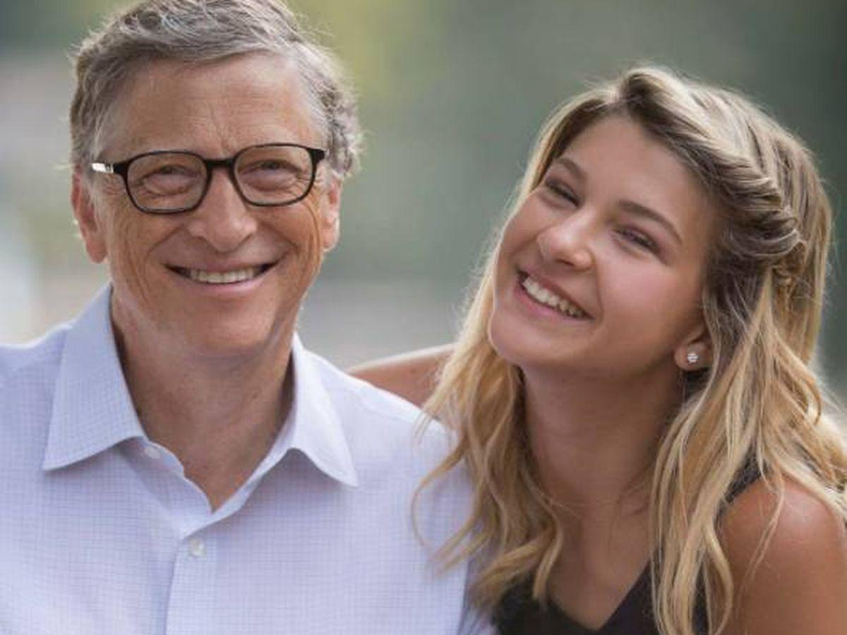 Foto:  Bill Gates, junto a su hija Phoebe. (Instagram @thisisbillgates)
