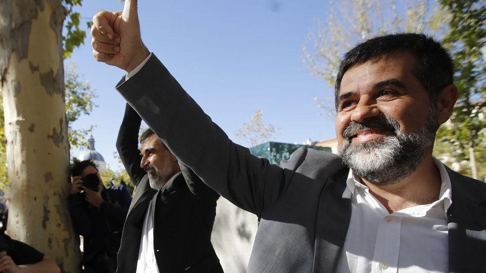 Foto: Jordi Sànchez reconoce ante el juez que el referéndum del 1-0 fue ilegal. (EFE)