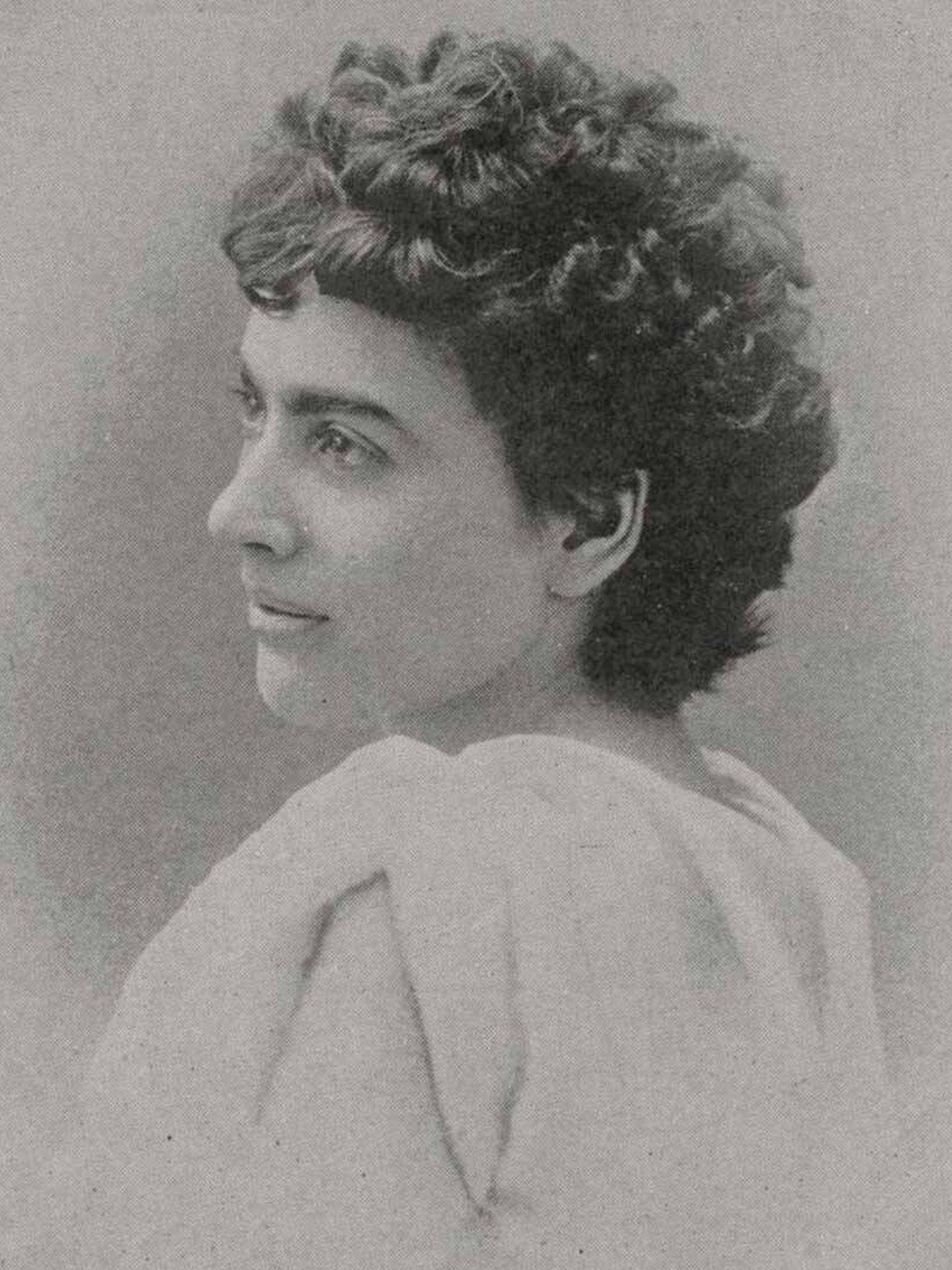 Elizabeth Magie, en una antigua fotografía. (Dominio público)