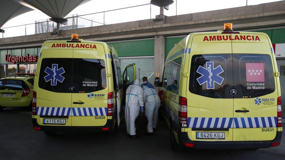 Foto: Urgencias de un hospital en Madrid. (EFE)