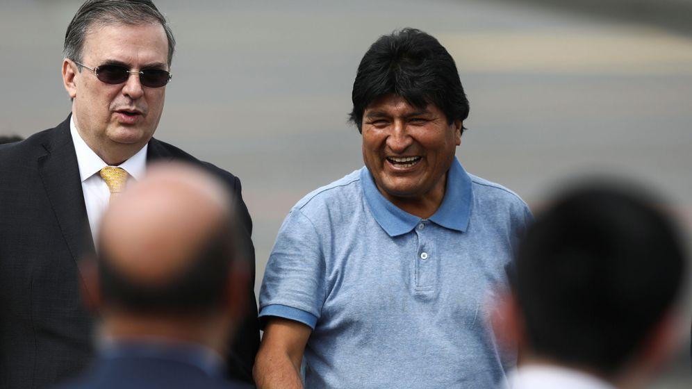 Foto: Evo Morales, a su llegada a México. (Reuters)