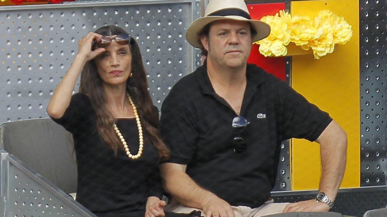 Con su marido, Leo Blackstad. (Cordon Press)