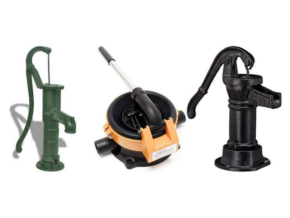 Foto: Mejores bombas de agua manuales