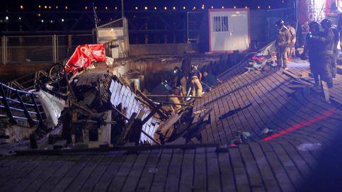 Más de 300 heridos en Vigo al ceder una plataforma en el festival 'O Marisquiño'