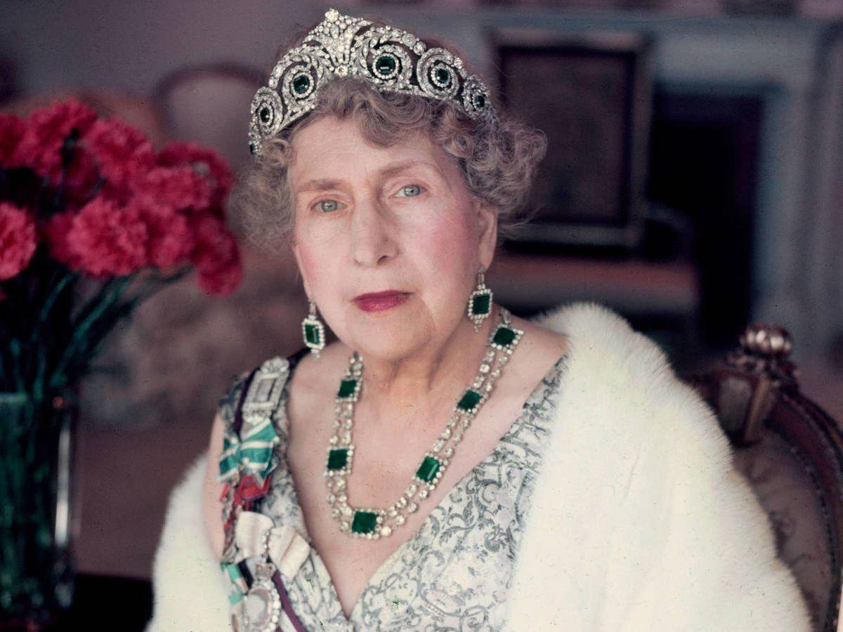 Foto: La reina Victoria Eugenia. (Getty)
