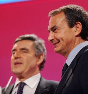 Zapatero analizará mañana con Brown las perspectivas de la economía europea