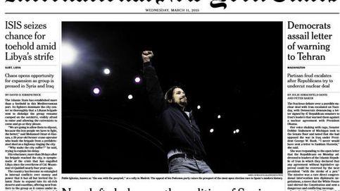 Pablo Iglesias, portada de  'The New York Times' ': No pensé que podría ser presidente