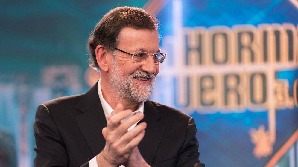 Foto: Mariano Rajoy, en 'El hormiguero'. (Atresmedia)