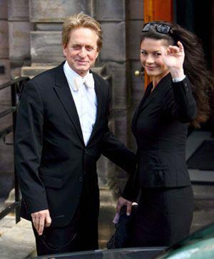 Catherine Zeta-Jones y Michael Douglas trabajarán juntos en la India