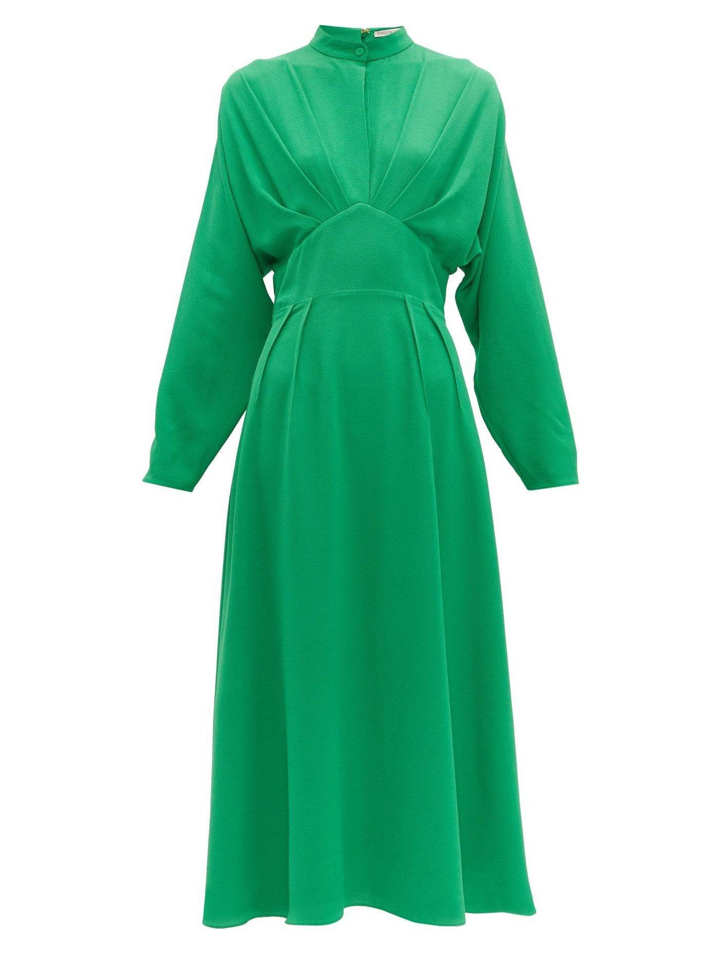 Vestido elegido por Kate Middleton para la recepción en Buckingham. (www.matchesfashion.com)