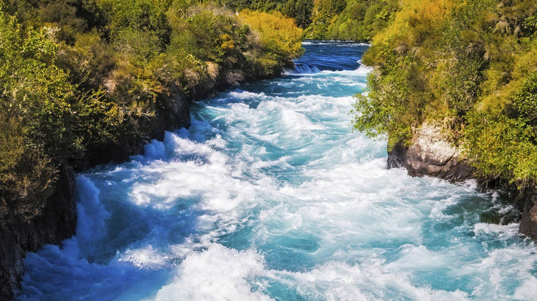 Huka Falls del río Waikato