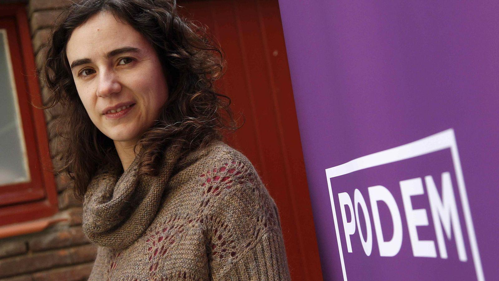 Foto: La secretaria general autonómica de Podem Catalunya, Gemma Ubasart. (EFE)