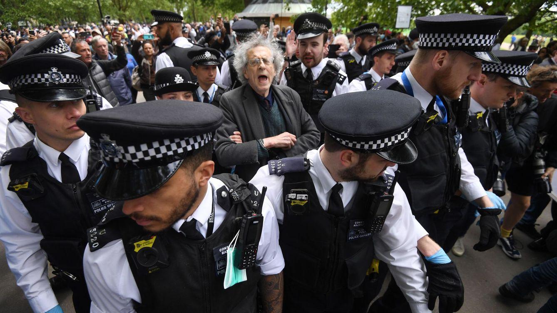 Detenidas 16 personas en Londres por protestar contra las restricciones sanitarias