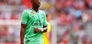 Post de El apagón de Vinicius y cómo Zidane le busca un sitio junto a Hazard en el Real Madrid