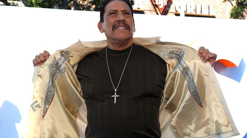 Foto: El intérprete de Danny Trejo en el estreno de uno de sus films (Reuters)