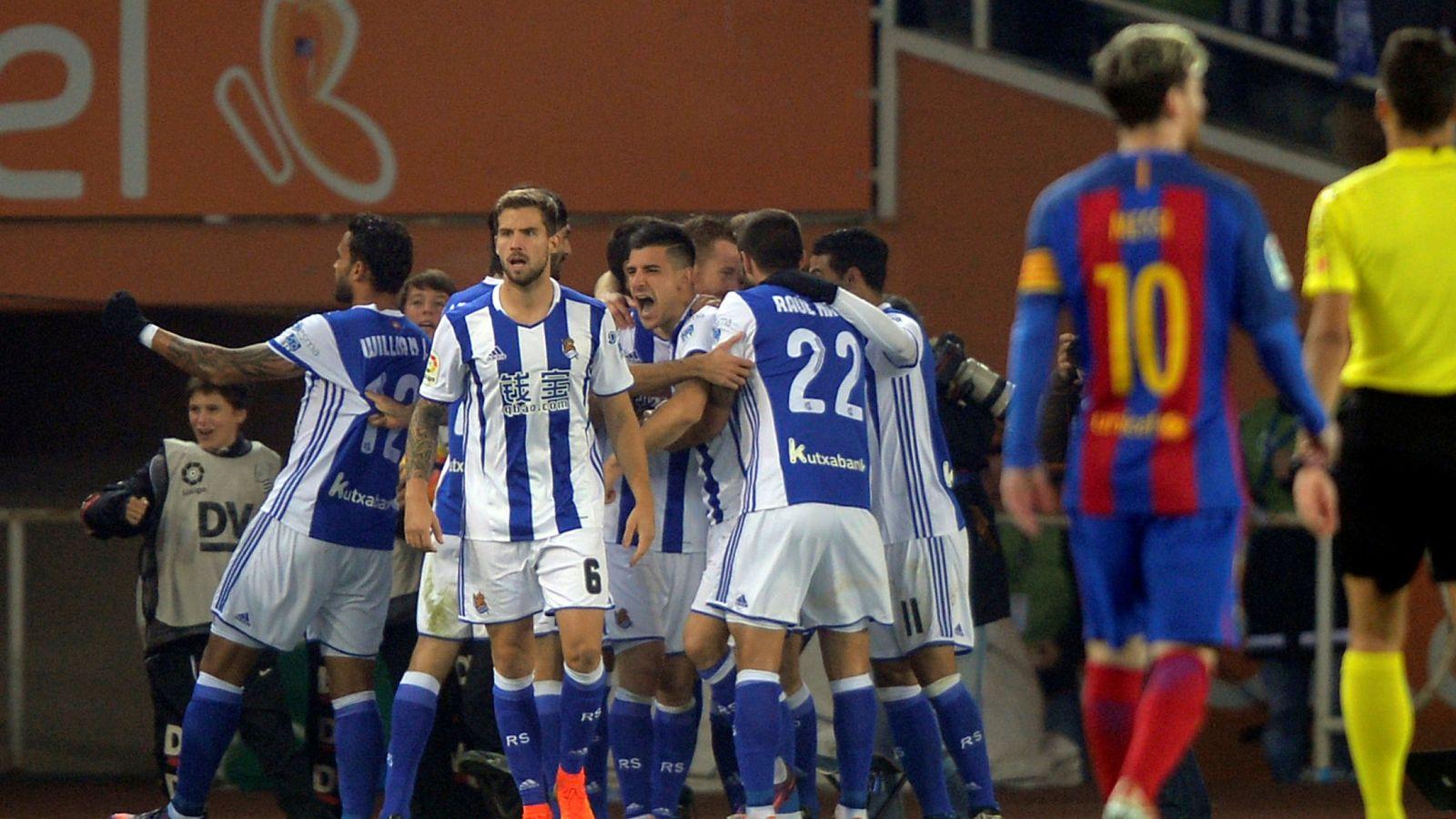 Copa del rey la real veta a goltv por aguarle la fiesta for Hora del partido del real madrid