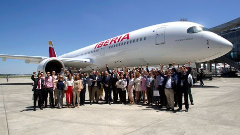 Iberia estrena el A350-900, el avión más silencioso del mercado