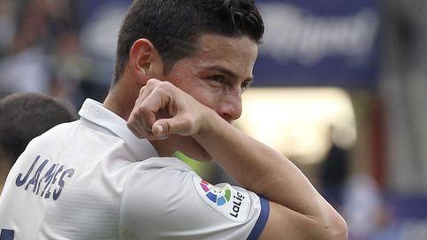 La imparable caída de James Rodríguez en el Real Madrid