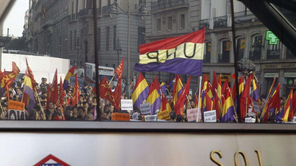 Foto: Protestas a favor de la República