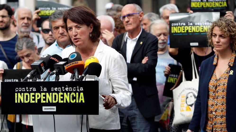 Foto: La presidenta de la ANC, Elisenda Paluzie. (EFE)