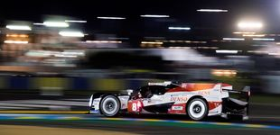 Post de El sufrimiento en el primer día del Toyota 8 de Fernando Alonso en Le Mans