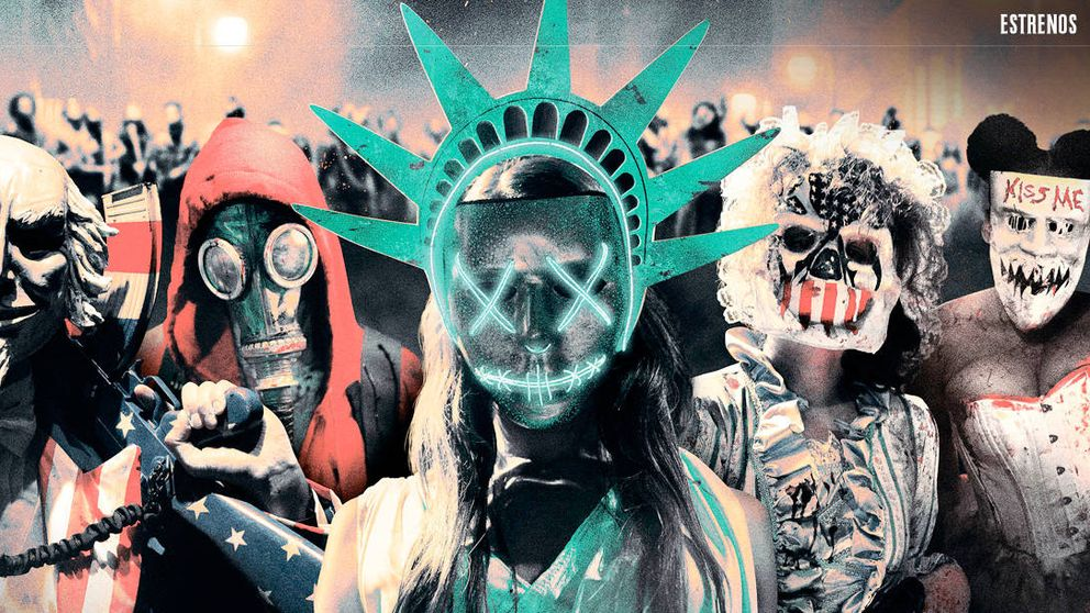 'Election: la noche de las bestias', la brutalidad gratuita toma el poder