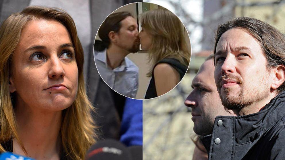 Las últimas horas de Tania Sánchez y Pablo Iglesias como pareja