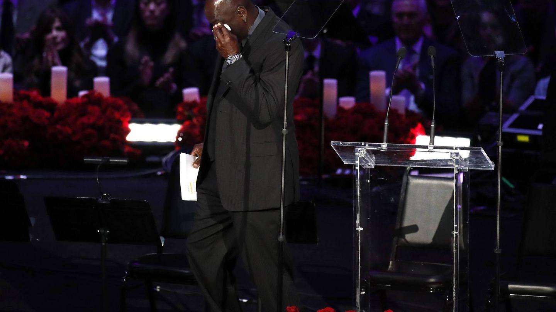 Las lágrimas de Jordan. (EFE)