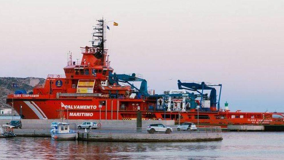Foto: Buque de Salvamento Marítimo (@salvamentogob)