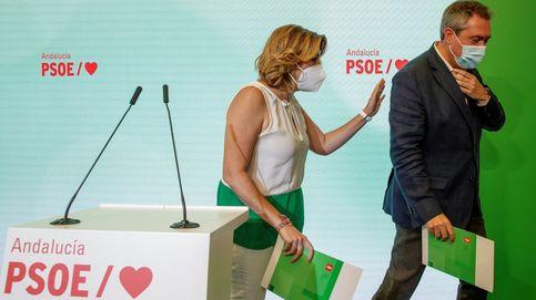 Susana Díaz cede el testigo, asume su marcha y pide que se cuente con todos en el PSOE