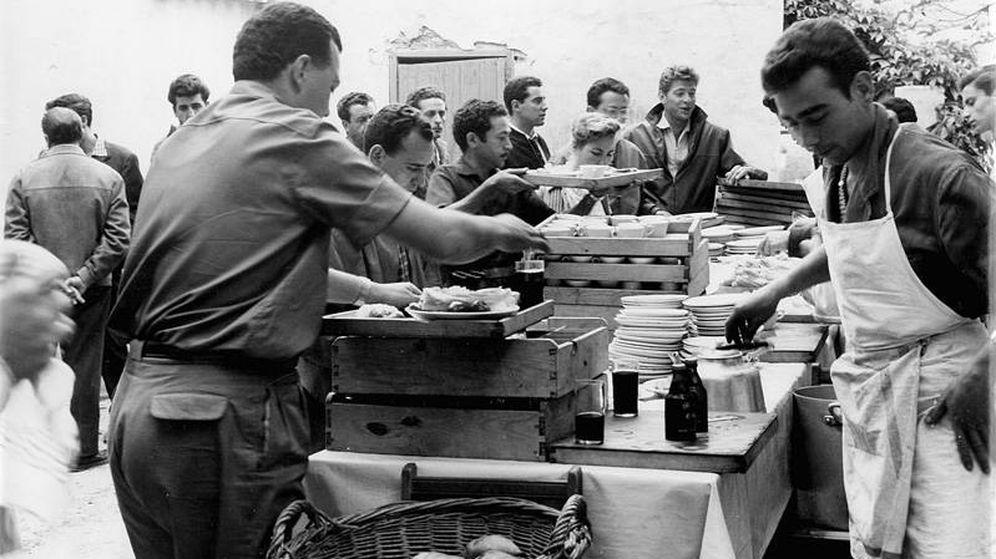 Foto: Imagen del catering en el rodaje de 'Ben-Hur' (Rafael Catering)