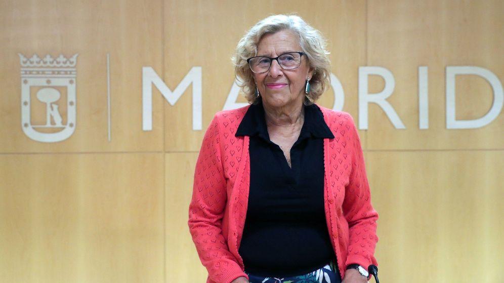 Foto: La alcaldesa de Madrid, Manuela Carmena. (EFE)