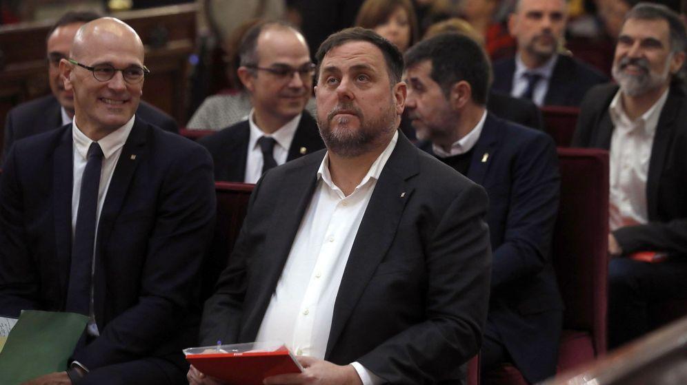 Foto: Oriol Junqueras, ante el Tribunal Supremo. (EFE)