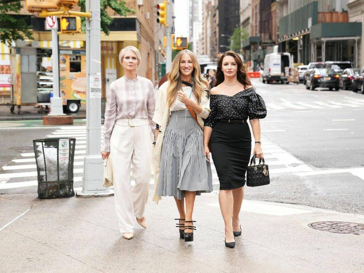 Foto: La serie que continúa la historia de 'Sexo en Nueva York' está en marcha con nuevos looks. (Instagram @justlikethatmax)