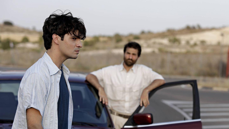 Gorka (Eneko Sagardoy) en una escena del séptimo episodio de 'Patria'. (Foto de David Herranz. HBO España)