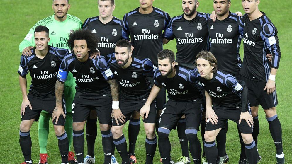 Foto: El equipo del Real Madrid. (EFE)