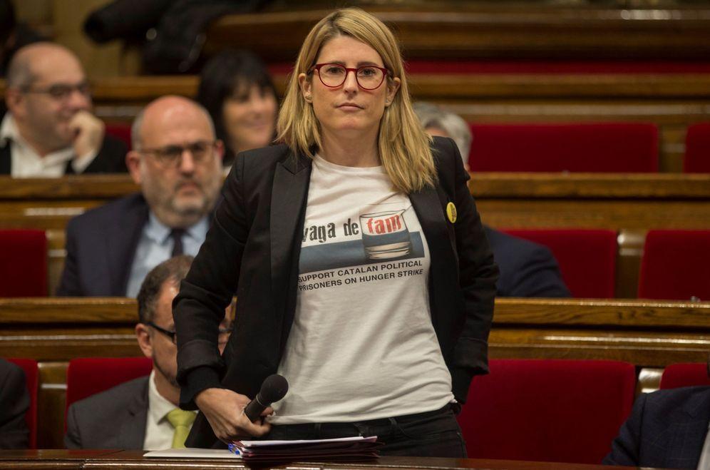 Foto: La 'consellera' de la Presidencia y portavoz del Govern, Elsa Artadi, en una imagen de diciembre. (EFE)
